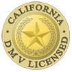California DMV Licensed